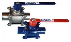 波兰ANDREX焊接球阀